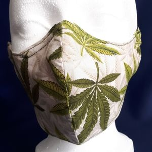 New Handmade Adult Lined Cotton Face Mask Print